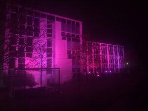 Gebäude Illuminierung BMS Veranstaltungstechnik GmbH