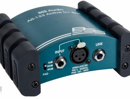 *** New Stuff – Weekly 02 *** – BSS Audio AR-133 Aktive DI-Box