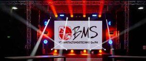Vermietung bei der BMS Veranstaltungstechnik GmbH
